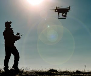 Drones and Social Distancing