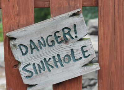Are Your Covered for Sinkholes